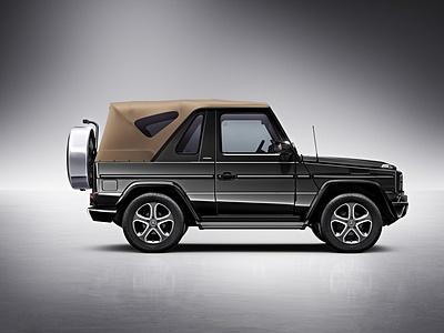 Спецсерия Mercedes-Benz G-Class Final Edition 200