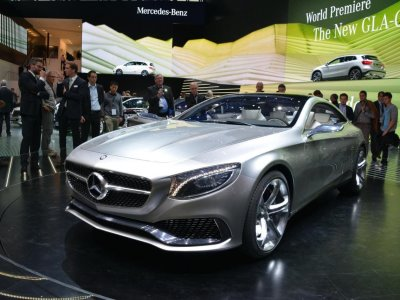 Mercedes-Benz Concept S-класса Coupe