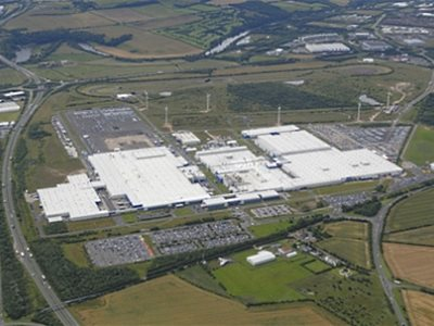 Завод Nissan в Сандерленде