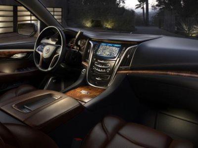 Интерьер нового Cadillac Escalade