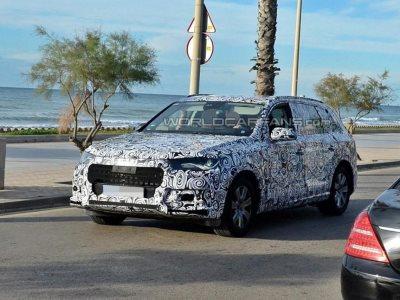 Тестовый прототип нового Audi Q7