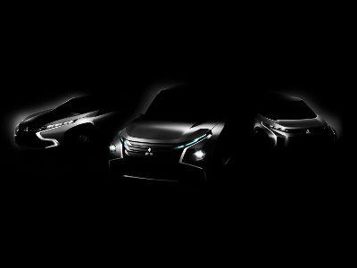 Тизер концепт-каров Mitsubishi
