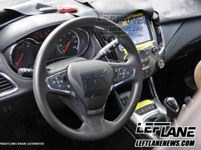 Интерьер Chevrolet Cruze нового поколения