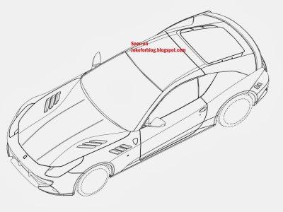 Двухместный вариант Ferrari FF
