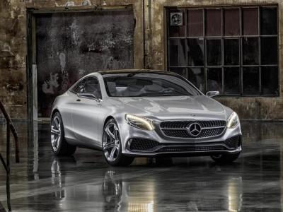 Mercedes Benz S-Class Coupe Concept