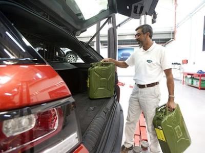 Range Rover Sport для пересечения пустыни