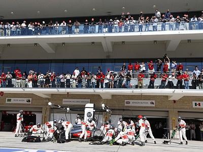 Пит-стоп Дженсона Баттона на Гран-при США
