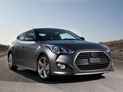 Обновленный Hyundai Veloster