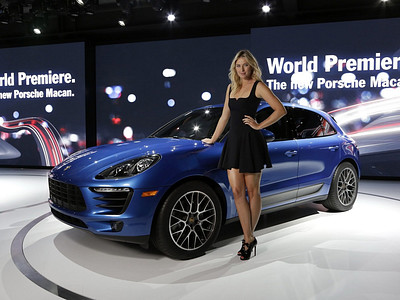 Премьера Porsche Macan на автосалоне в Лос-Анджелесе