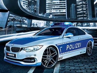 Police BMW 428i от AC Schnitzer