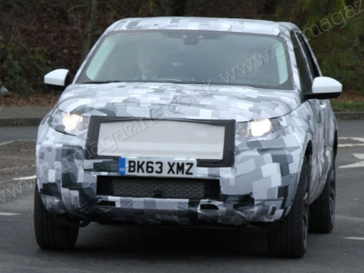 Тестовый прототип преемника Land Rover Freelander