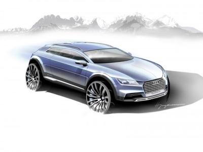 Концептуальный кроссовер Audi