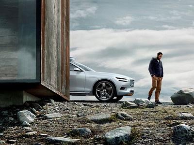 Концепт-кар Volvo Concept XC Coupe