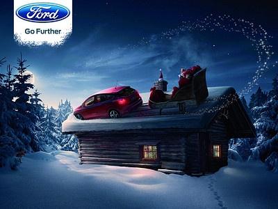 Новогодняя рекламная кампания «Форда»