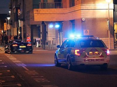 Полицейский Superb V6 в Англии