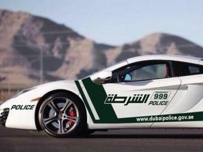 McLaren MP4-12C для полиции Дубая