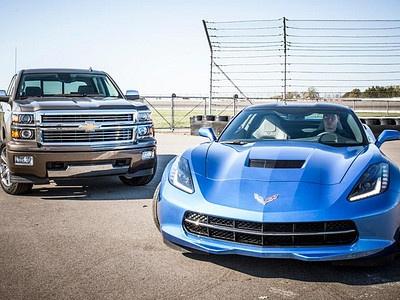 Chevrolet Silverado и Corvette Stingray