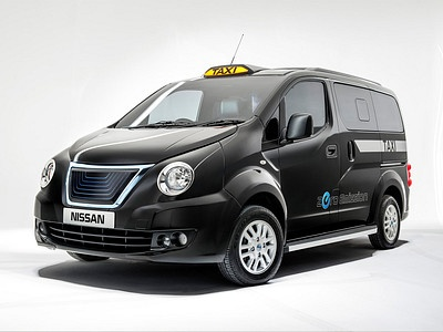 Таксомоторная модификация Nissan NV200