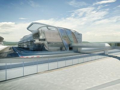 Проект способного принимать Формулы-1 автодрома в Сочи