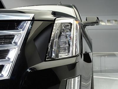 Фрагмент нового Cadillac Escalade