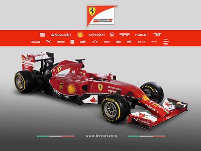 Болид Ferrari F14T
