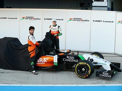 Болид Force India VJM07