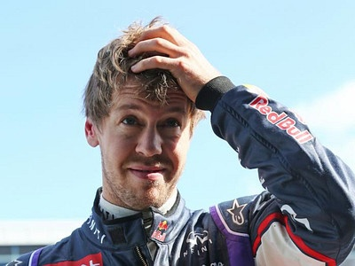 Себастьян Феттель на тестах Формулы-1 в Хересе