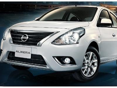 Обновленный седан Nissan Almera для рынка Таиланда