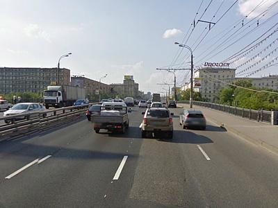 Ленинградское шоссе в Москве