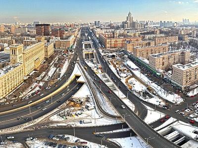 Волоколамский тоннель в Москве