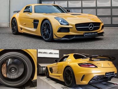 Mercedes-Benz SLS AMG Black Series от mcchip-dkr