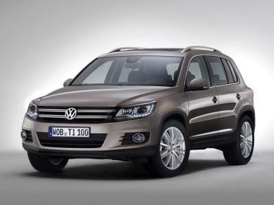Volkswagen Tiguan текущего поколения