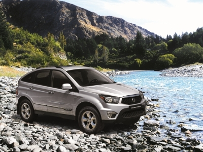 Кроссовер SsangYong Nomad. Фото SsangYong