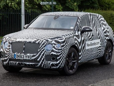 Новый внедорожник Bentley