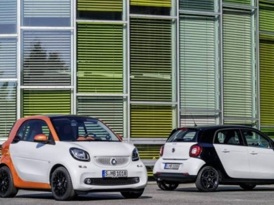 Smart ForTwo and ForFour