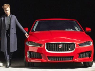 Jaguar XE и Эмели Санде