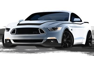 Тизер Ford Mustang RTR