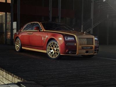 Rolls-Royce Ghost от ателье Mansory