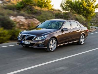 Mercedes-Benz E-Класс нынешнего поколения