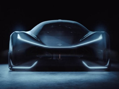 Конкурента Tesla Model XотFaraday Future показали навидео