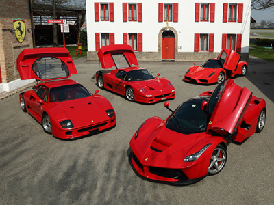 С2019 года автомобили Феррари оснасят гибридными моторами