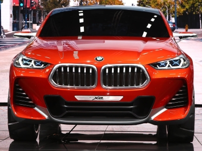 БМВ X2 будет похож на концептуальный автомобиль