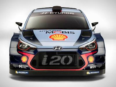 Хендай i20 Coupe WRC 2017 представили вМонце