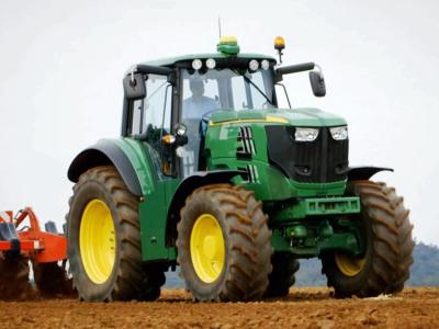 John Deere представил 1-ый электро-трактор SESAM