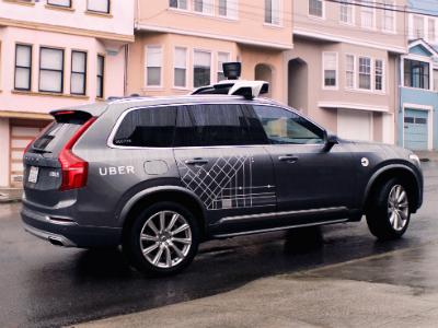 Власти Калифорнии запретили беспилотное такси Uber