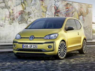 VW представит «заряженную» модель UpGTI в 2018