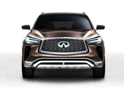 Компания Инфинити презентовала вДетройте концепт-кар паркетника QX50