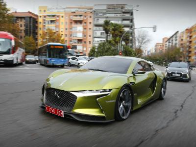 БрендDS в предстоящем 2018-ом презентует новый спортивный автомобиль E-Tense