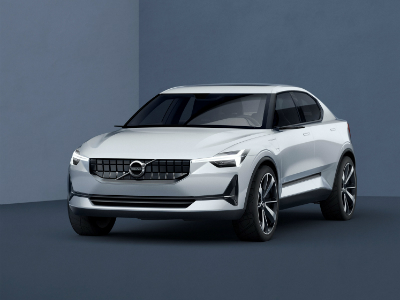 Volvo представит в 2017 году новый компактный кроссовер XC40