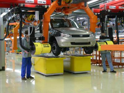 Экспорт авто «Лада» в минувшем году упал на45%